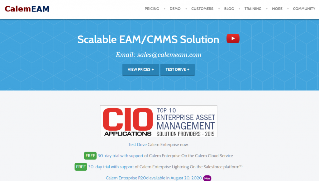 Best Free CMMS Software 2020 4